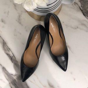 Classic Black Nine West Heels